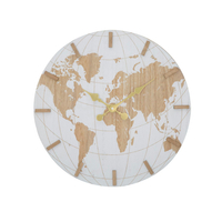 New design wooden decorative wall clock