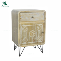 reliable living room furniture supplier dark yellow wooden cabinet