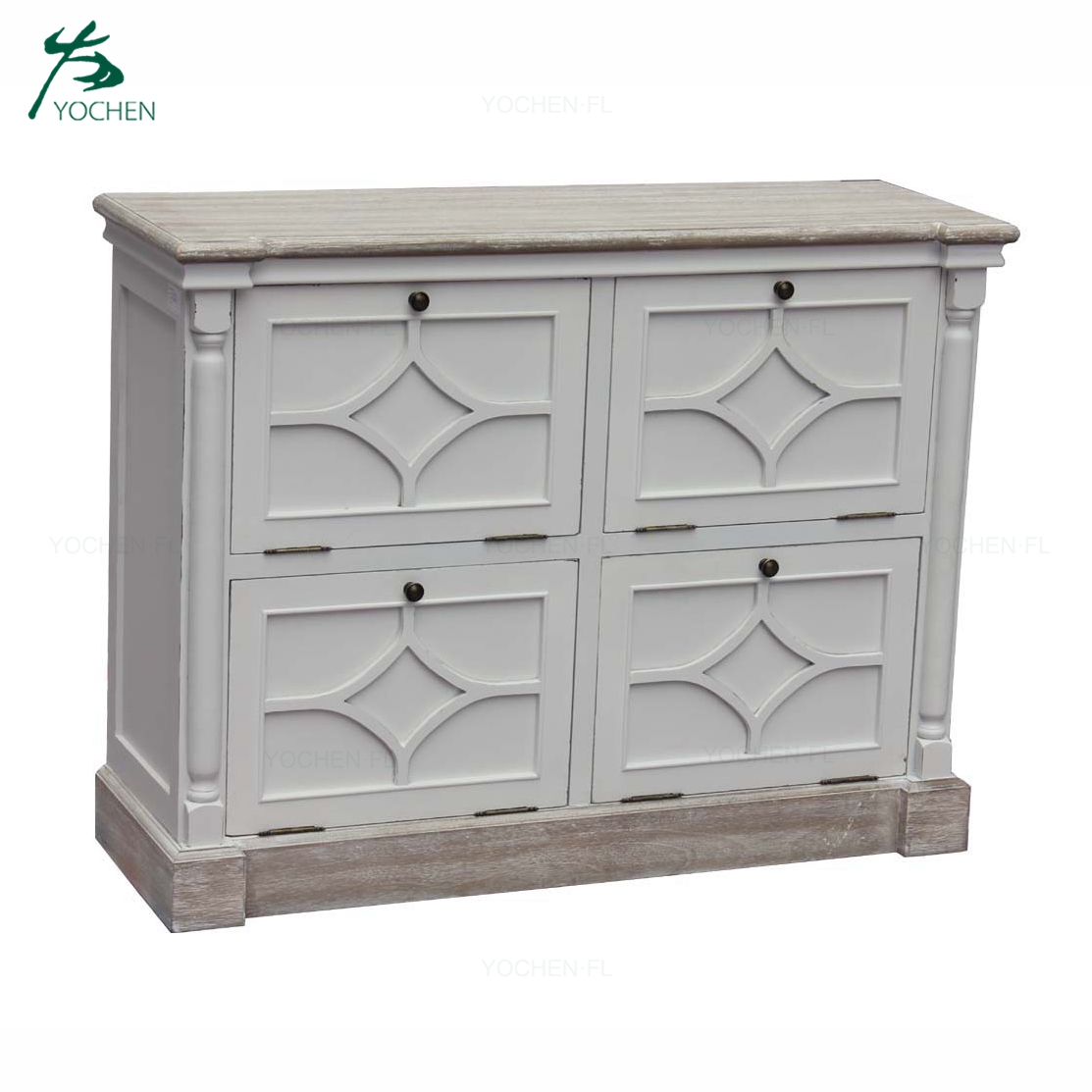 Industrial Style Wooden Living Room Furniture Wooden Cabinet