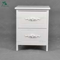 wooden cabinet cheap white nightstand