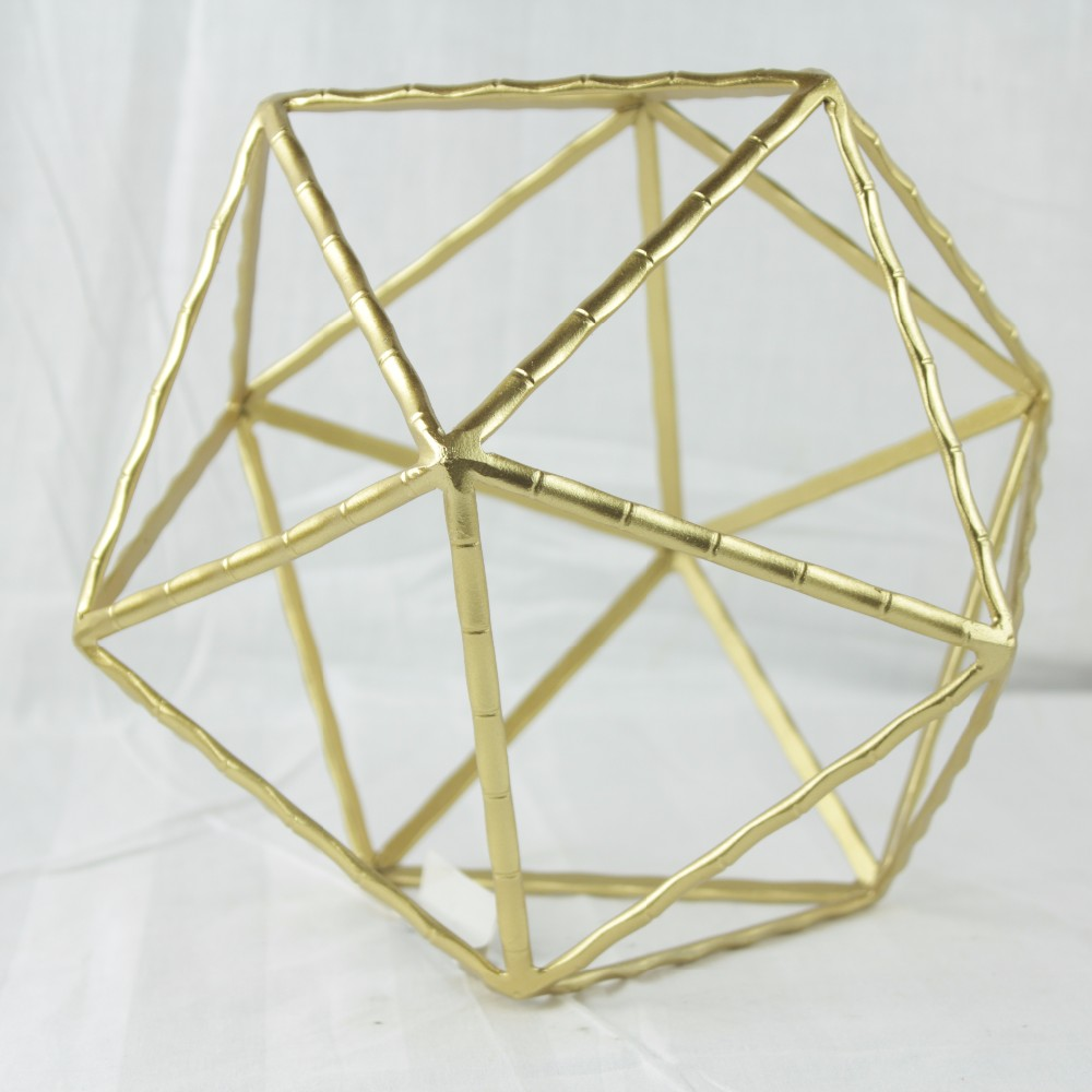 Iron geometric decor for Table-top