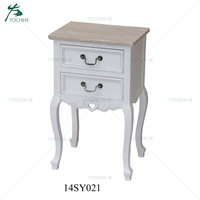 2 Drawer storage bedside table bedroom furniture night stand