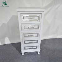 home furniture white tall cabinet wood furniture