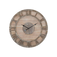 Antique wood clock decorative wall clock