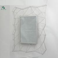OEM Wholesale Decor Silver Rectangular Wall Mirror