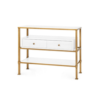Living room sideboard metal console table living room cabinet