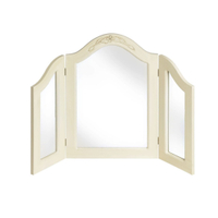 dressing table wooden decorative foldable makeup mirror