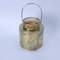 Wholesale silver candle holder Wedding candle lantern