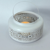 moroccan lanterns metal tea light cup holder
