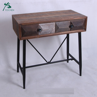 living room decoration furniture wooden classic console table