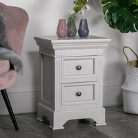 bedroom furniture wood nightstand modern bedside table