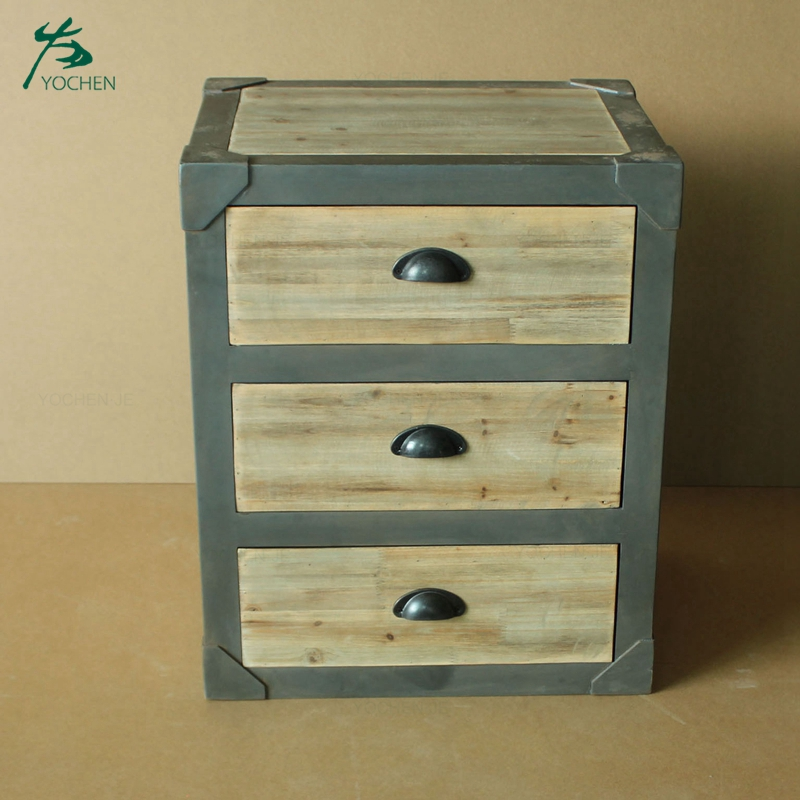 Wood bedroom furniture bedside table night side table nightstand