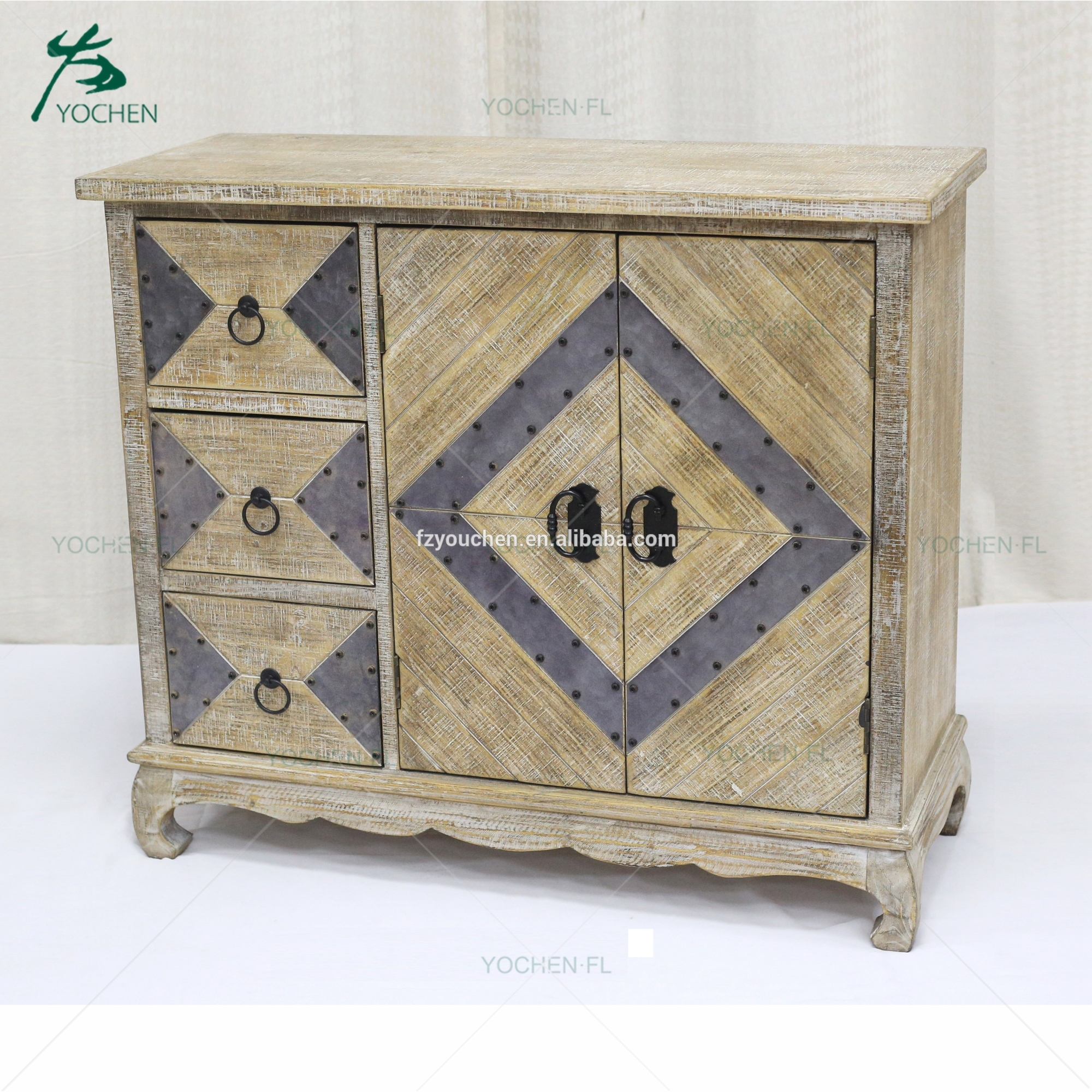 industrial furniture wooden simple style african big table