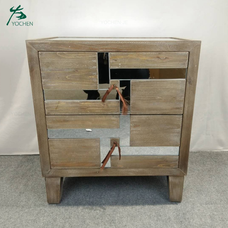 Wood bedside table nightstand bedroom furniture night table