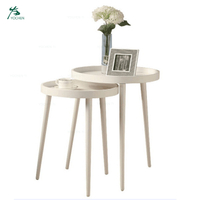 Home decor shroom waterproof side table cover small coffee table 2 sets