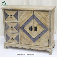 Wholesale Shabby Home Furniture Used Wooden Storage Cabinets