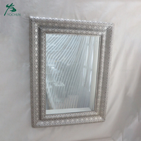 Home Funiture Bathroom Mirrors Silver Decorative Wall Mirror