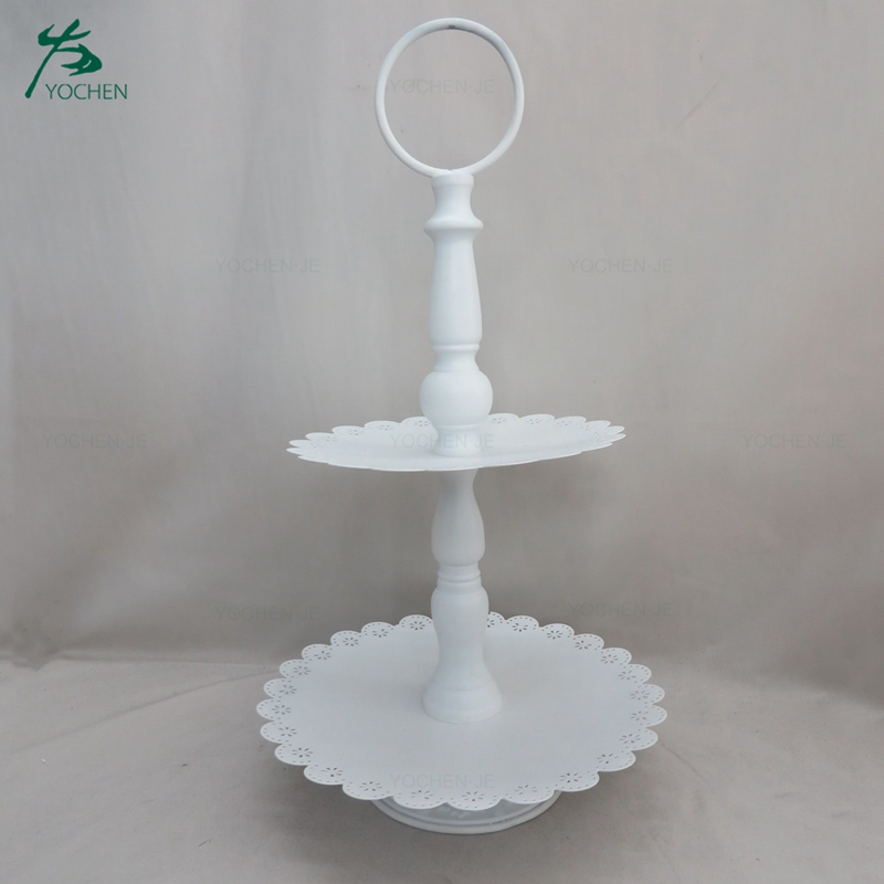 dessert buffet display white cake stand cupcake for wedding cake
