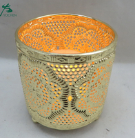 Luxury wholesale custom metal candle holder cheap on sale