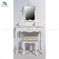 Classic Vintage French Bedroom Furniture white dressing table