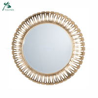 houseware attractive decoration metal ornamental mirror