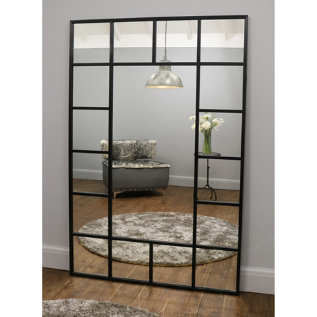 antique black industrial wholesale full length wall mirror